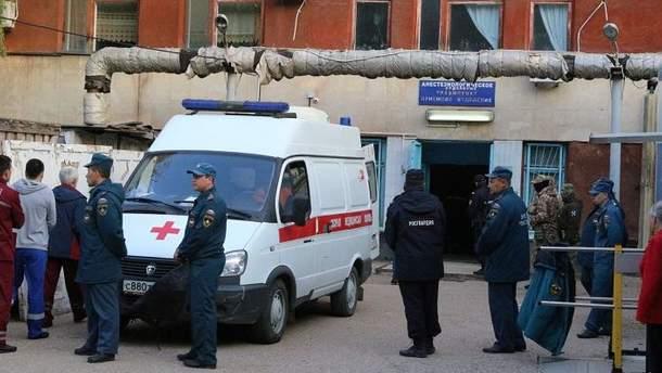 Российские военные приступили к охране учебных заведений Керчи