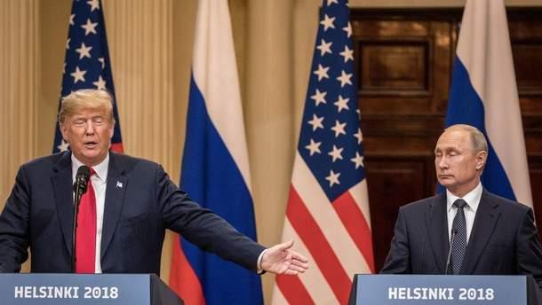 """Наезды"" Трампа на Путина: позиция или поза?"