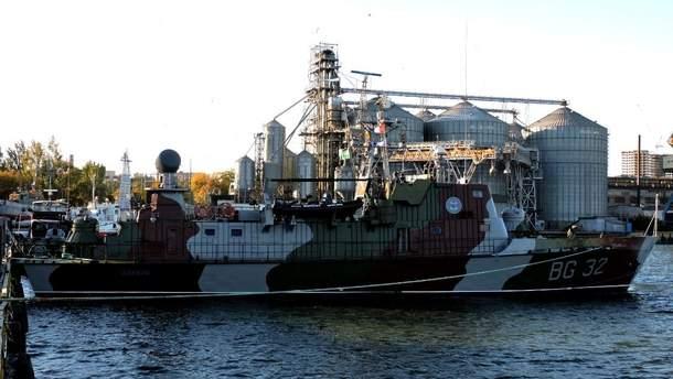 Найбільший український охоронний корабель повернувся після ремонту в  Азовське море