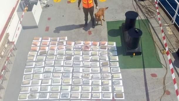 УВенесуелі перехопили судно зі 147кг кокаїну, серед затриманих— українець