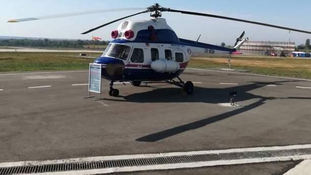 Мі-8 потрапив до флоту Берлінської вертолітної служби