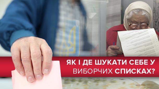 Про правила пошуку і внесення змін до списків виборців