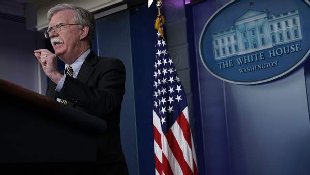 Радник Білого Дому з питань національної безпееки Джон Болтон пояснив позицію США щодо виходу з ядерної угоди з Росією