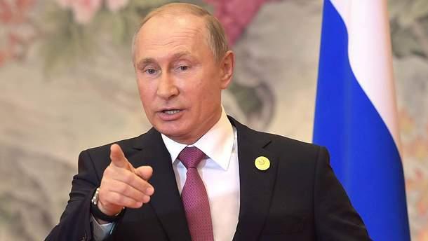 Путін підписав указ про введення санкцій проти України