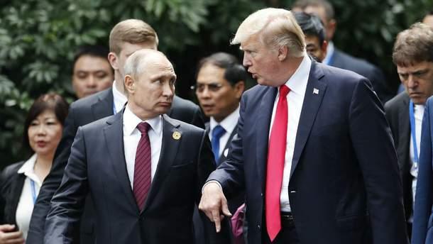 Трамп и Путин снова встретятся в Париже
