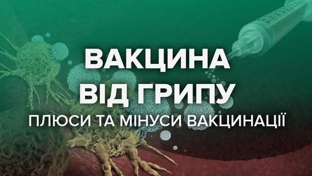 Вакцина від грипу в Україні