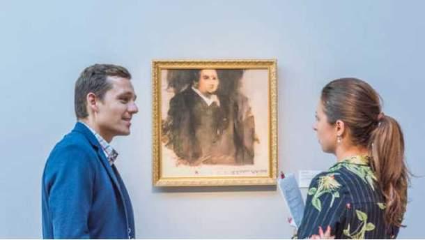Портрет Эдмонда Белами нарисовала машина