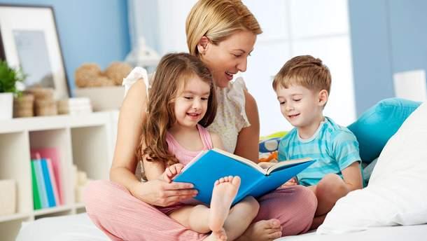Як правильно читати дітям казки