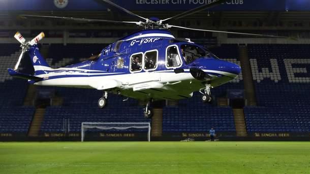 """В Британии разбился вертолет владельца футбольного клуба """"Лестер Сити"""""""