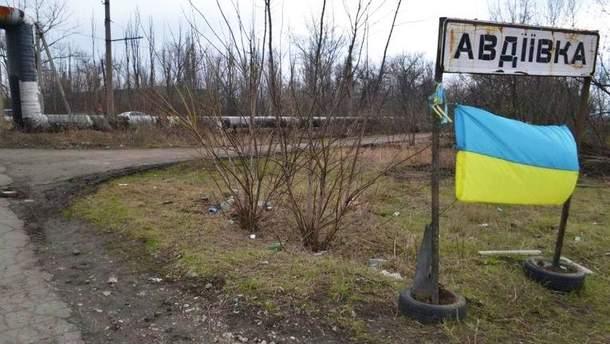 Бой украинских военных с боевиками в Авдеевской промзоне сняли на видео