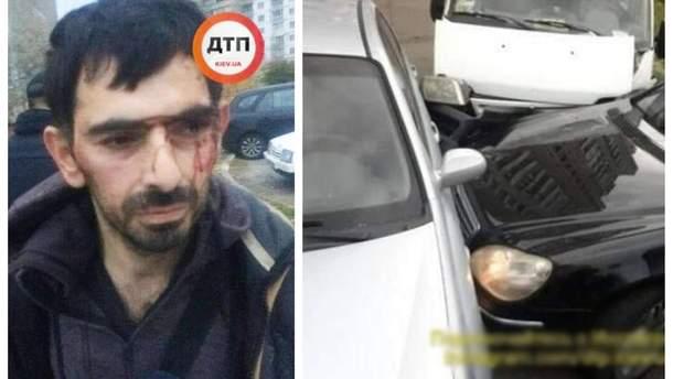 В Киеве задержали группу иностранцев, которые попытались ограбить квартиру и устроили аварию