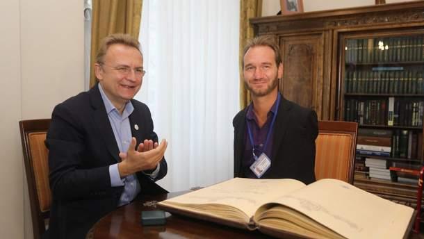 Андрій Садовий призначив Ніка Вуйчича позаштатним радником