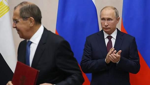Лавро заявив, що США хочуть змінити внутрішньополітичний режим у Росії