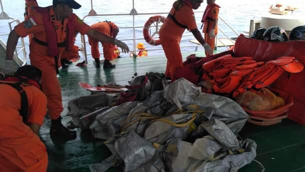 Самолет Boeing-737 упал в море в Индонезии: на борту были чиновники Минфина