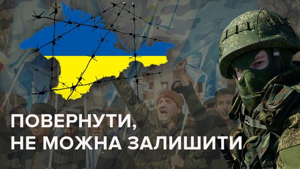 Возвращение Крыма в Украину