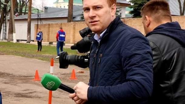 Журналист Никита Развозжаев
