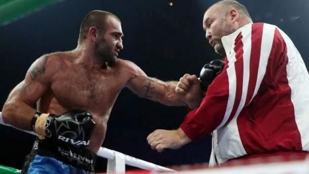 Леван Шонія побив тренера