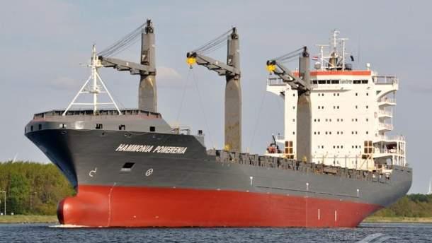 Нигерийские пираты захватили судно Pomerania Sky