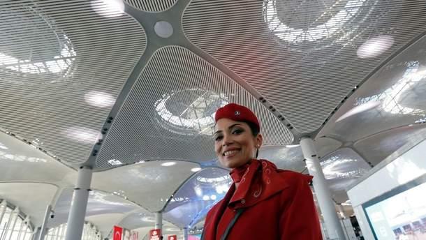 УСтамбулі відкрили аеропорт, який невдовзі стане найбільшим усвіті