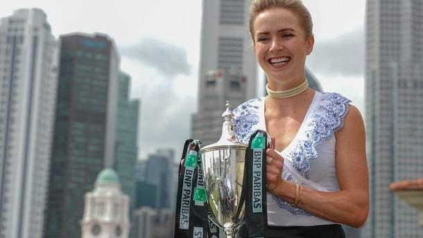 Еліна Світоліна знову четверта ракетка світу