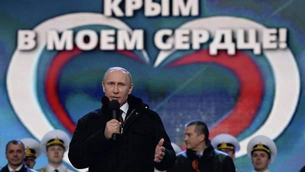 Експерт пояснив, для чого Путін окупував Крим