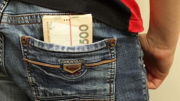 В Украине выросла средняя заработная плата