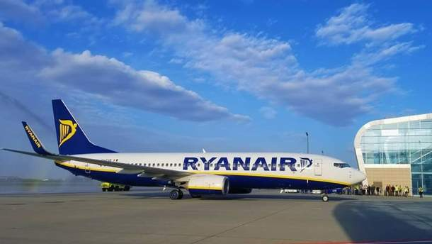 Ryanair совершил первый рейс из Львова
