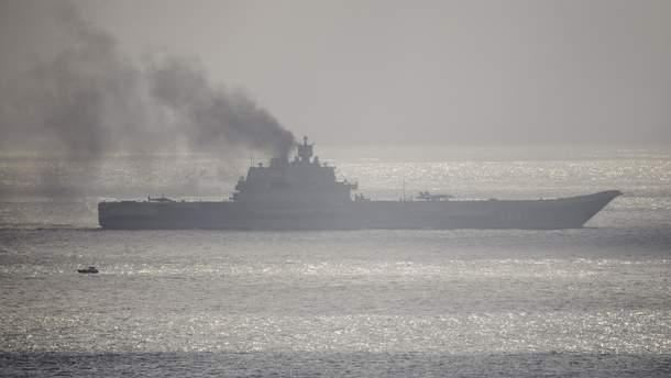 "Аварія з авіаносцем ""Адмірал Кузнєцов"" сталась у Росії"