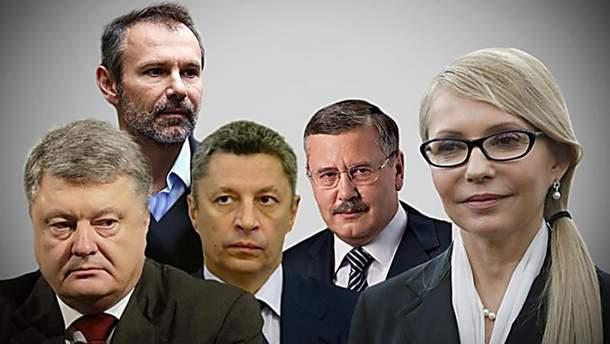 Кандидати в президенти обіцяють швидко завершити війну
