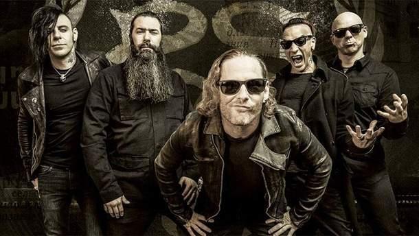 Группа Stone Sour впервые выступит в Киеве