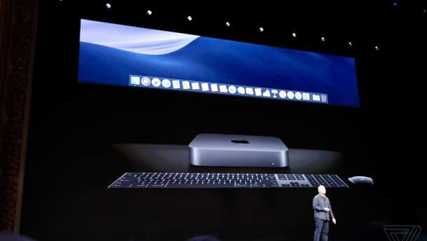 Apple презентовала обновленный Mac mini