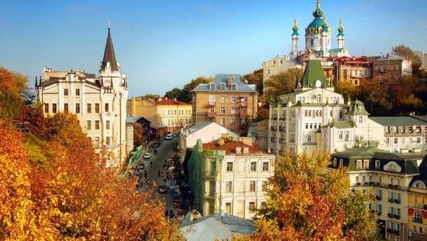 В Киеве в конце октября побит новый температурный рекорд
