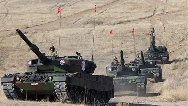 Турция готовит масштабную военную операцию в Сирии