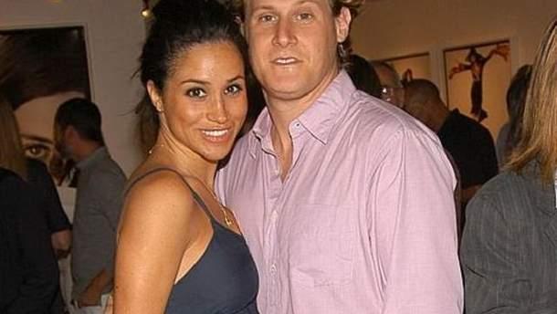 Меган Маркл з колишнім чоловіком