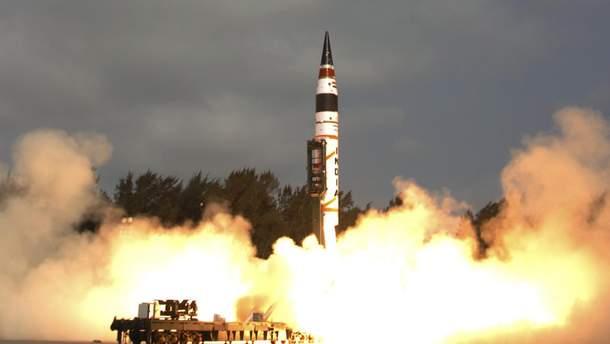 Індія провела успішне випробування ракети Agni-I, здатної нести ядерний боєзаряд