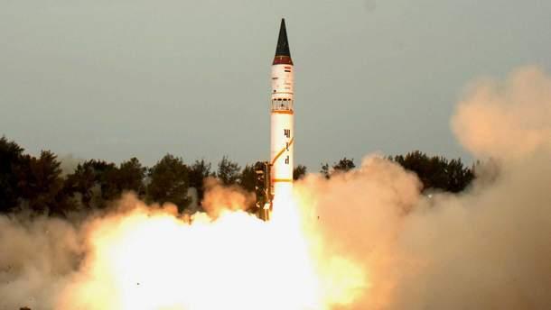Индия провела успешное испытание ракеты Agni-I, способной нести ядерный боезаряд
