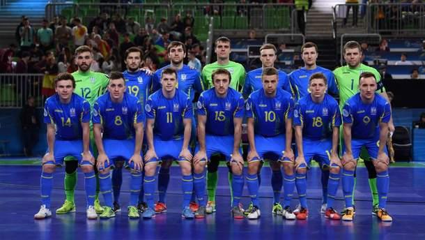 Мужская сборная Украины по футзалу уступила Франции в первом товарищеском матче