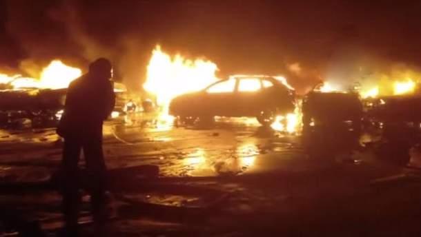 Сотні елітних Maserati згоріли в Італії в масштабній пожежі