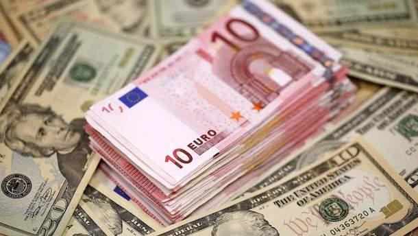 Готівковий курс валют 31 жовтня в Україні