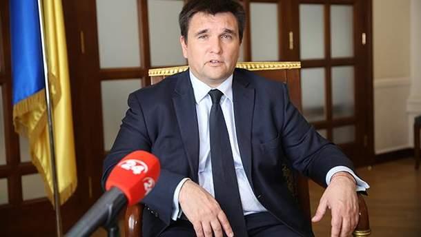 Клімкін заявив, що тексти для МЗС Росії пишуть пропагандистські канали