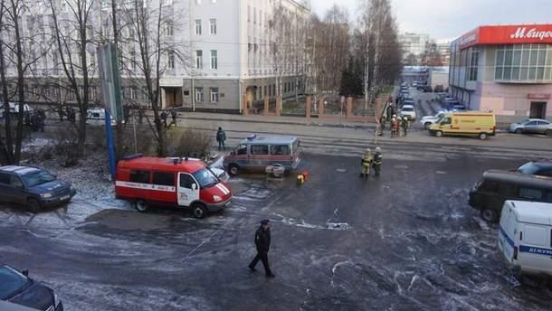 Появились резонансе подробности о взрыве в здании ФСБ в Архангельске