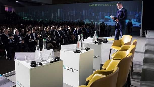 Віталій Кличко на Kyiv Smart City Forum 2018