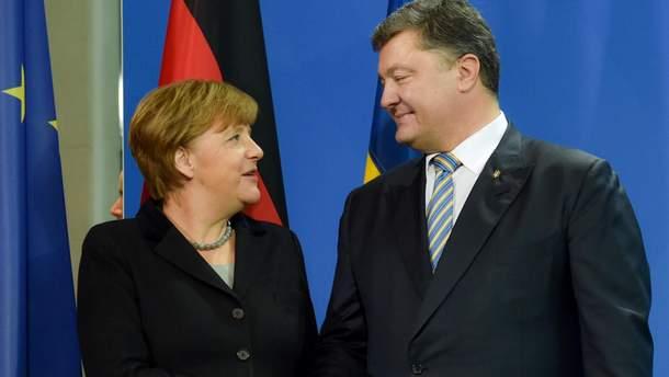 Меркель встретится в Киеве с Президентом Украины, премьером и спикером Рады