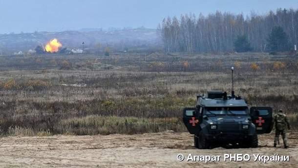 """Украинские военные испытали новый минометный комплекс """"Барс-8ММК"""""""