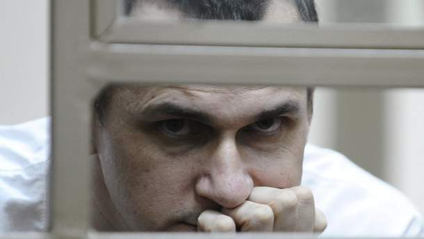 У Росії заявили, що Сенцов набрав 10 кілограмів і майже повернувся до своєї початкової ваги