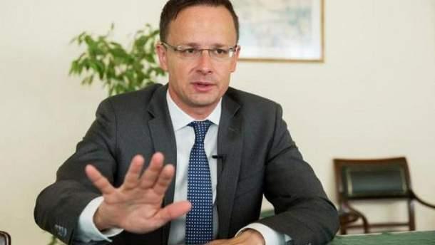 Сийярто заверил, что Венгрия не планирует захватывать Закарпатье