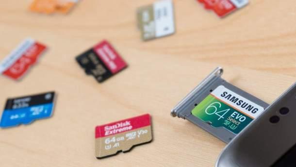 Стартував продаж microSD-карт Samsung  на 512 ГБ