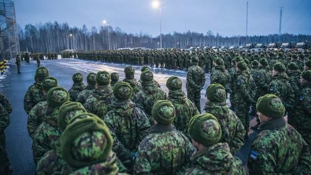 Сборы резервистов в Эстонии