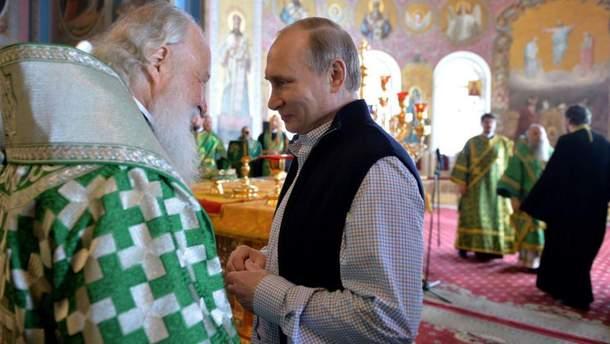 Близько 50 організацій, пов'язаних із РПЦ, отримали від Путіна гранти на загальну суму у 55,3 мільйона рублів