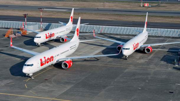 З'явилося відео з літаком Boeing 737 авіакомпанії Lion Air перед смертельним вильотом